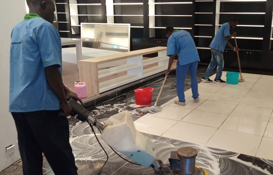 Jubilant cleaning services